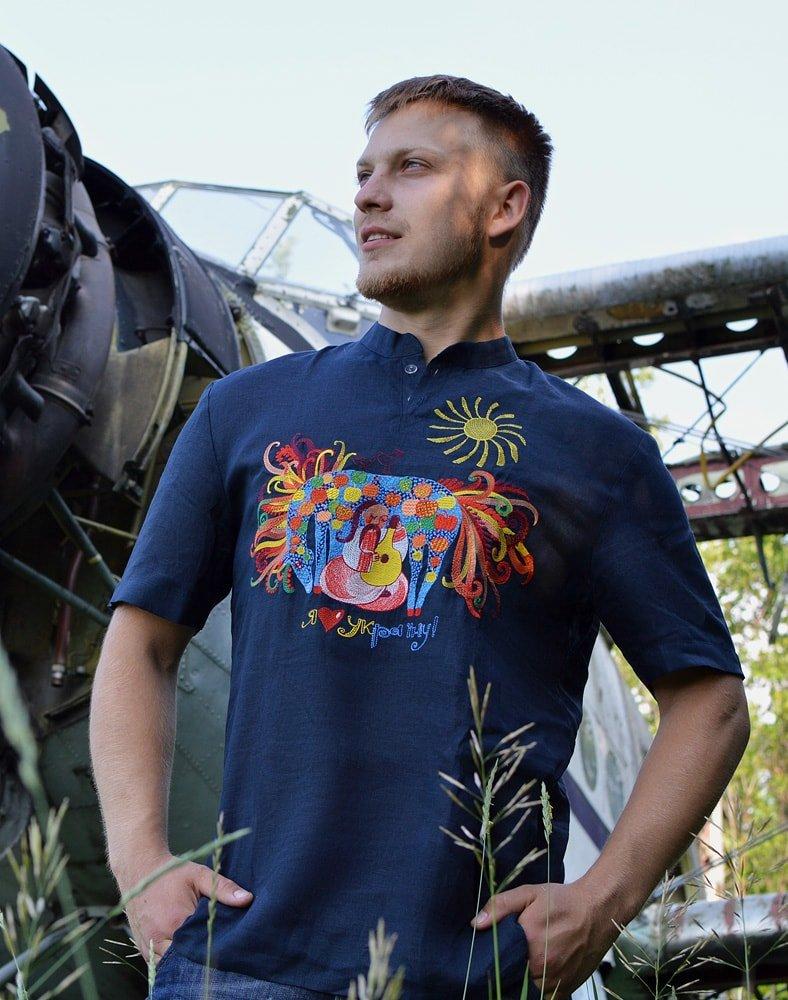 Мужская одежда в украинском стиле от ТМ Журавель