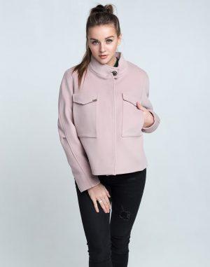 К-104 Пальто Кашемир розовый