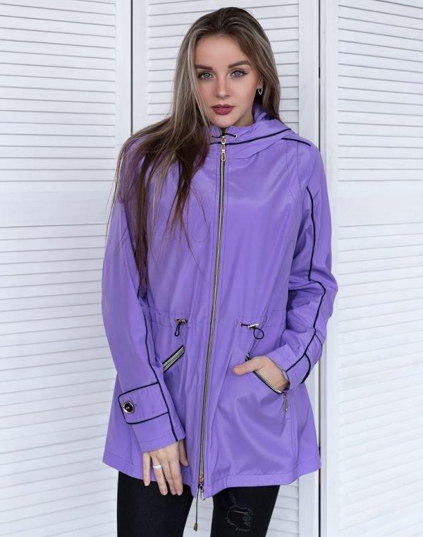 Женский плащ П-76-1 фиолетовый