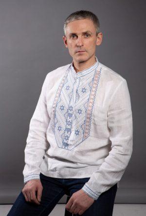ВЧ Зірка Давида ДР льон 4.516 белый