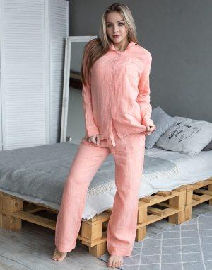 Пижама женская ВП-65 оранжевый