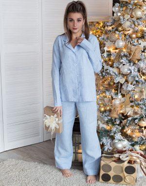 Пижама женская ВП-65 голубой