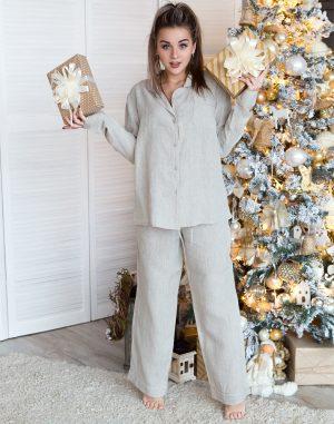 Пижама женская ВП-65 бежевый