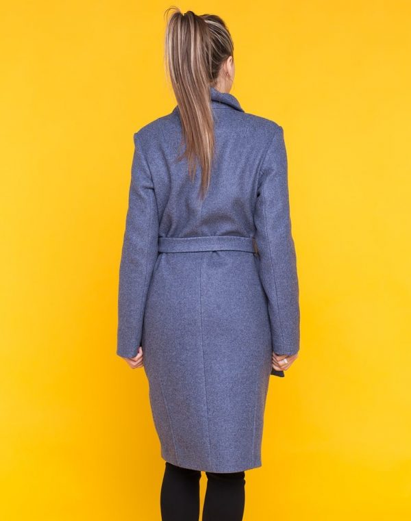 Пальто женское В-169 кашемир Феникс серый