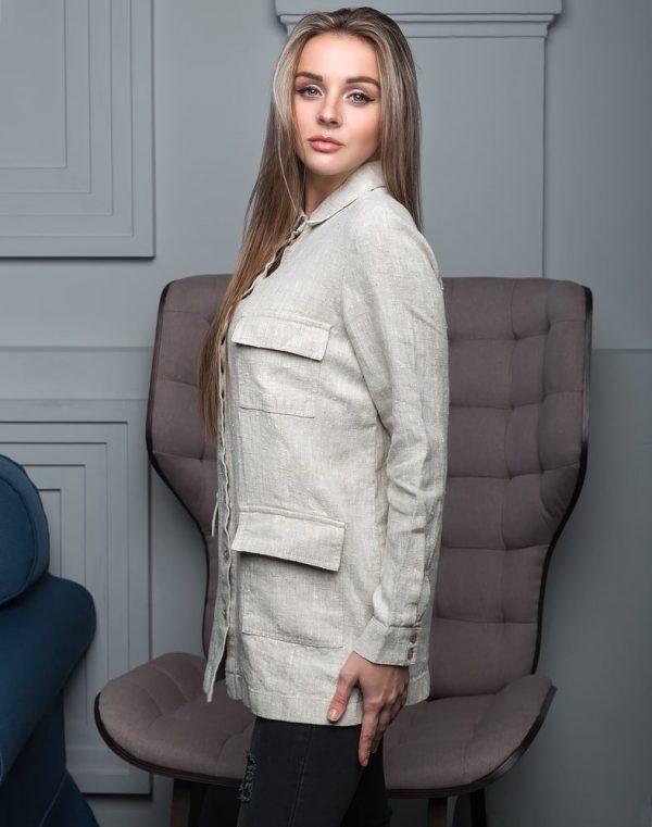 Жакет женский ВП-143 лен  9с93_330