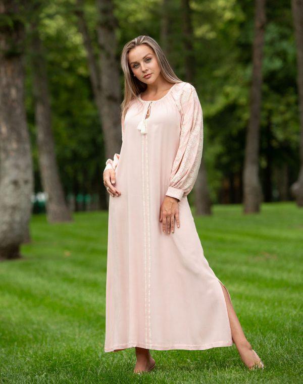 """Платье """"Лілея"""" поплин розовый"""