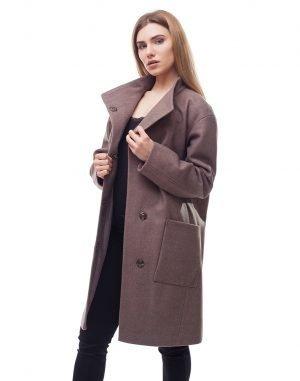 Женское пальто В-71 Феникс беж