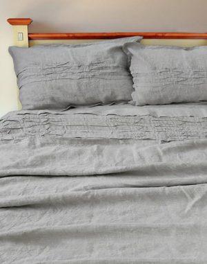 Комплект постельного белья Двуспальный бежевый